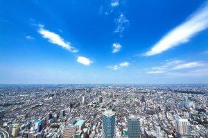 上空から撮った街