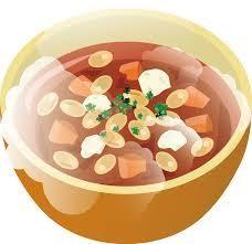 スープの絵