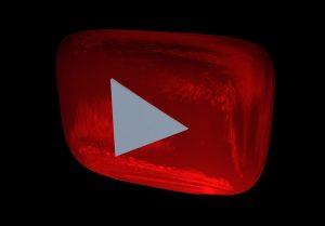Youtubeのような置物