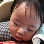 顔のアップの赤ちゃん