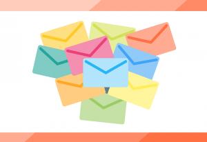 大量のメール