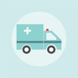 救急車の絵